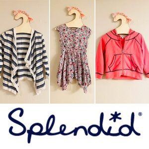 Splendid bundle 3 items dress, hoodie, open cardi